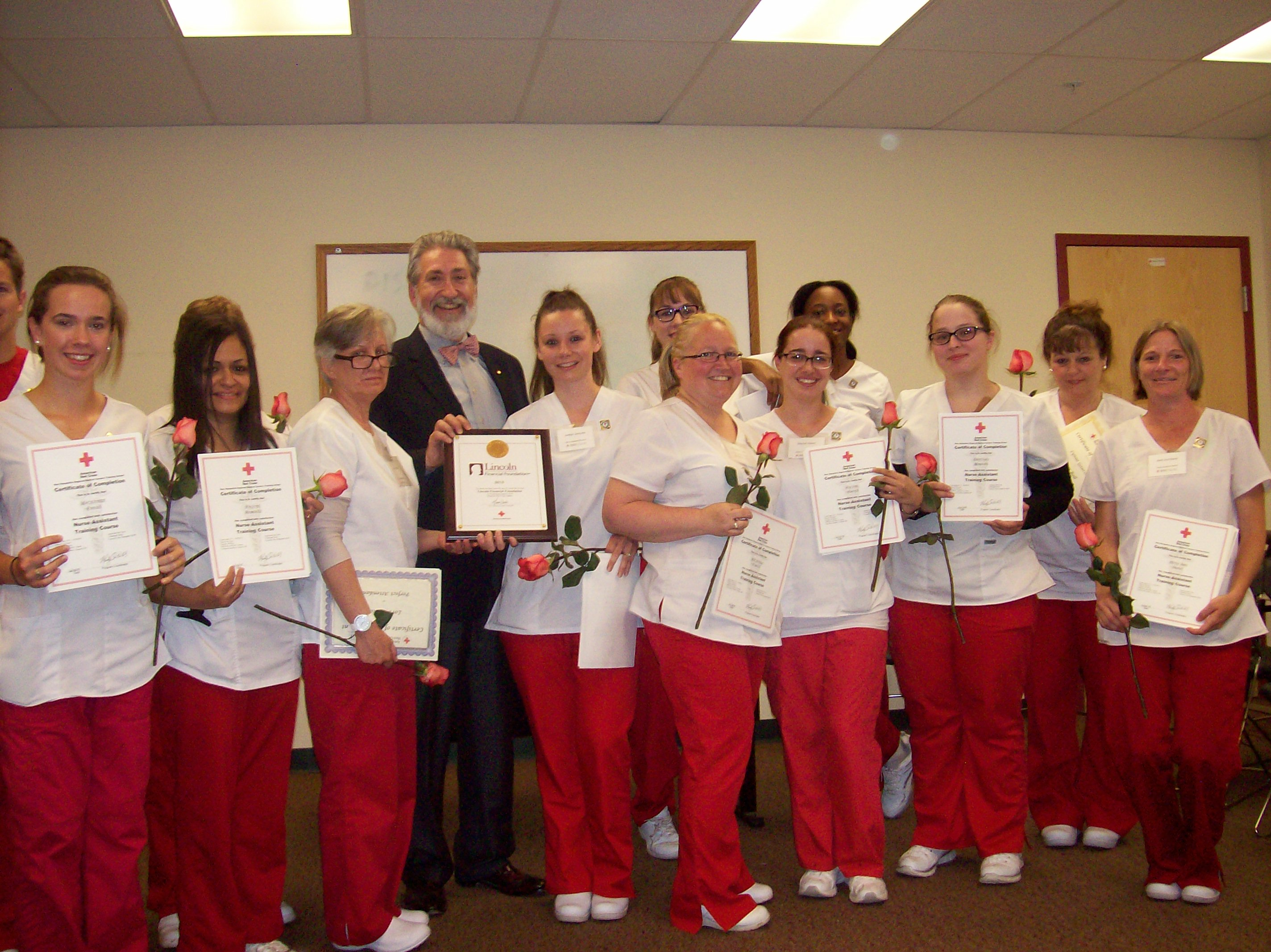 American red cross certifies 2015 class of grant funded nursing american red cross certifies 2015 class of grant funded nursing assistant graduates 1betcityfo Choice Image